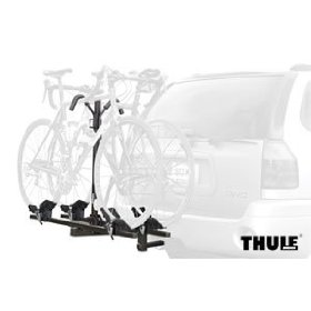 Show details of Thule 990 DoubleTrack 2 Bike Hitch-Mount Rack.