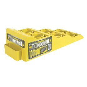 Show details of Camco Manufacturing Inc. 44573 Yellow RV Tri-Leveler.