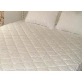 Show details of Short Queen Mattress Pad Matress Cover for RV or Camper.