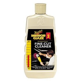 Show details of Meguiar's M0216 Mirror Glaze Fine-Cut Cleaner - 16 oz Bottle.