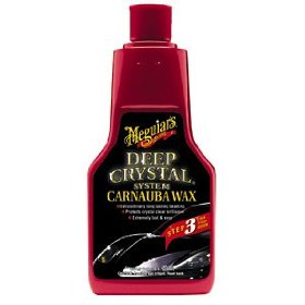 Show details of Meguiar's A-2216 Deep Crystal Carnuba Wax. 16 oz. liquid.