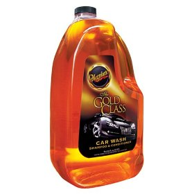 Show details of Meguiar's G7164 Gold Class Car Wash Shampoo and Conditioner.