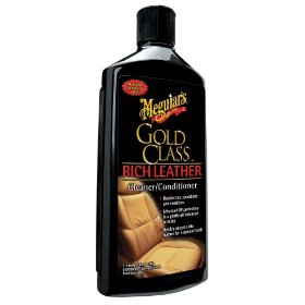 Show details of Meguiar's G-7214 Gold Class Rich Leather Cleaner and Conditioner.