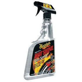 Show details of Meguiar's G-12024 Hot Shine High Gloss Tire Spray. 24 oz..