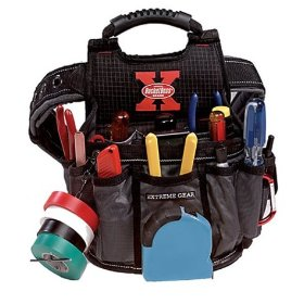 Show details of BucketBoss Extreme Gear 54017 Sparky Electricians Utility Pouch with Belt.