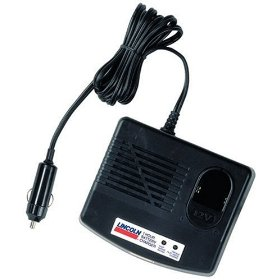 Show details of Lincoln Lubrication 1215 12 Volt Charger For PowerLuber.