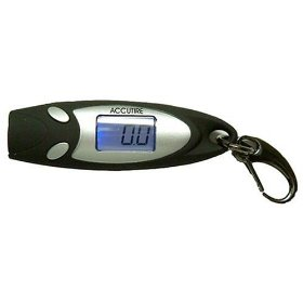 Show details of Accutire MS-4650 Key Chain Digital Tire Gauge with Flashlight.