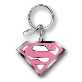 Show details of Supergirl Enamel Key Chain.