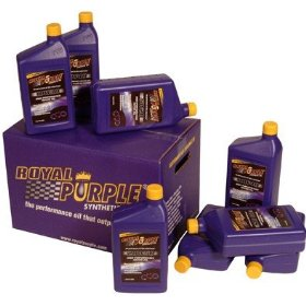 Show details of Royal Purple Max-Cycle Synthetic Motorcycle Oil Oil 20W50, Quart, Pack of 12.