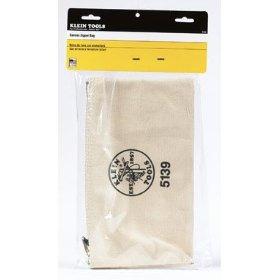 Show details of Klein 5139 12-1/2-Inch Canvas Zipper Bag.
