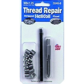 Show details of Helicoil 5546-8 Thread Repair Kit M8 x 1.25.