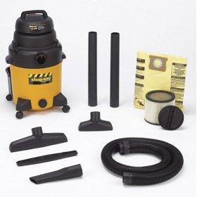 Show details of Shop-Vac QPL40 10-Gallon 4-Horsepower Wet/Dry Vacuum.