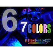 Show details of 6pc 7 COLOR 4pc UNDERBODY UNDERGLOW KIT & 2pc LED INTERIOR KIT.