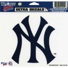 Show details of New York Yankees - Logo Decal - Sticker MLB Pro Baseball.