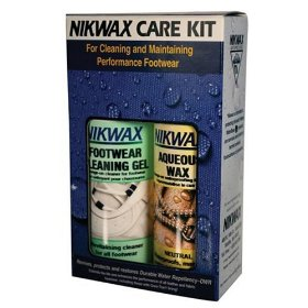 Show details of Nikwax Footwear Care Kit for Leather.