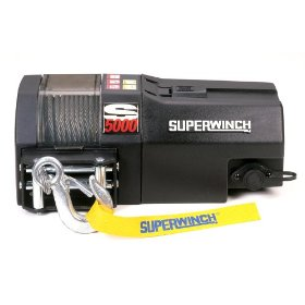 Show details of Superwinch 1450200 S5000 High Performance Utility Series 1.8-horsepower Trailer Winch - 5,000-Pound Capacity.