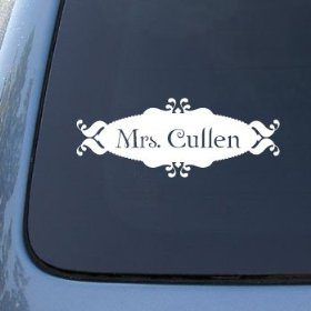 Show details of MRS CULLEN - Twilight - Vinyl Car Decal Sticker #1469 | Vinyl Color: White.