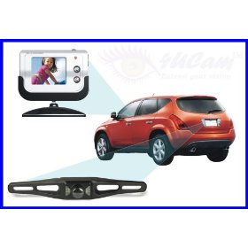 Show details of 4UCam Wireless Vehicle Backup Rear view Camera With Color LCD Monitor + Night Vision.