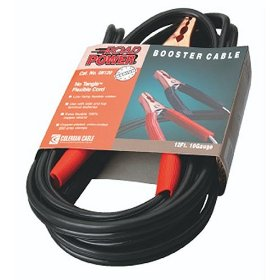 Show details of Coleman Cable 08120 12' 200-Amp 10-Gauge Black Automotive Booster Cable.