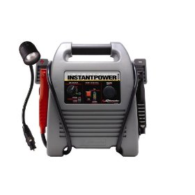 Show details of Schumacher IP-1850FL Instant Power Jump Starter With 12 Volt Flex Light.