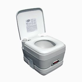 Show details of Century 6205 2.8-Gallon Portable Toilet.