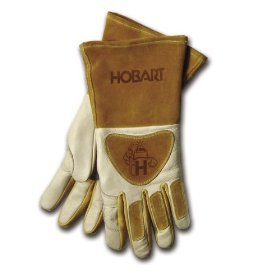 Show details of Hobart 770440 Premium Form Fitted Welding Gloves.