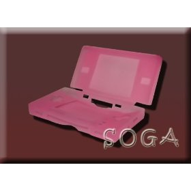 Show details of PINK SILICONE SKIN CASE NINTENDO NDS LITE DS.