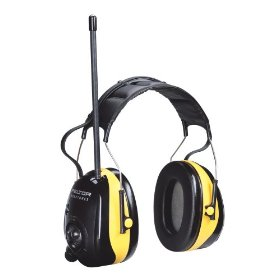 Show details of Peltor 90534 WorkTunes AM/FM Hearing Protector.