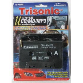Show details of CAR CASSETTE TAPE DECK ADAPTER ADAPTOR ALL IPOD MP3 CD.
