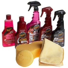 Show details of Meguiar's Classic Wash & Wax Kit.