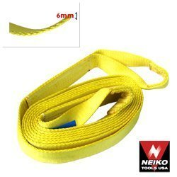 "Show details of Neiko 4"" x 30' Cargo Loop Strap, 40,000Lb."