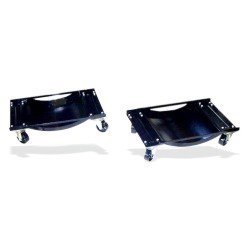 Show details of Vehicle Repositioning Dolly Set - Heavy-Duty Steel with Swivel Casters - Set of Two.