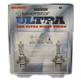 Show details of Sylvania H7 SilverStar Ultra Headlight - Pack of 2 Bulbs.