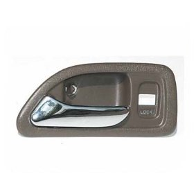 Show details of 94 95 96 97 Honda Accord Left Inside Door Handle Brown 1994 1995 1996 1997.