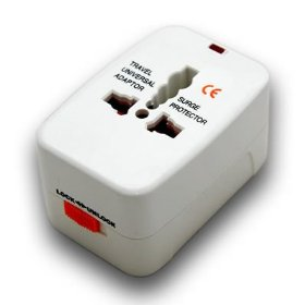 Show details of Universal International Travel Power Plug Adapter Converter.