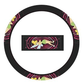 Show details of Tinker Bell Optic Mix Style Steering Wheel Cover.