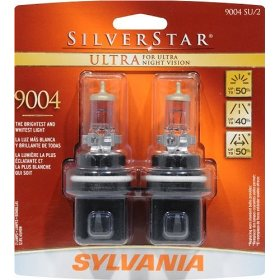 Show details of Sylvania 9004SU BP TWIN SilverStar Ultra, Twin Pack.