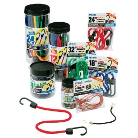 Show details of Highland 90086 Bungee Cord Assortment - Set of 12.