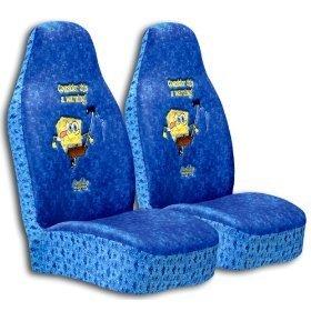 Show details of Spongebob Car Front Seat Covers (1 PAIR).