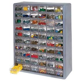 Show details of Stack-On Products 60 Drawer Storage Cabinet DS-60.