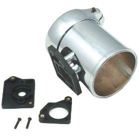 Show details of Spectre 8705 Chrome Air Flow Sensor Mount Kit.