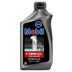 Show details of Mobil 1 V-Twin Motorcycle 20W50 Motor Oil - 1 Quart, Pack of 6.