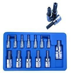 Show details of 13 pc Torx Tamper Proof Security Socket Bit Set.