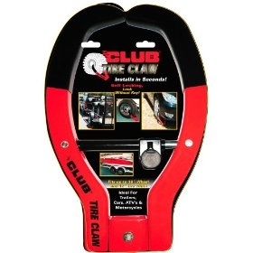 Show details of The Club #491 Tire Claw Security Device.