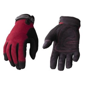 Show details of Youngstown Glove Co. 04-3800-30-S Women's Garden Glove Performance Glove Small, Burgundy.