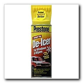 Show details of Prestone Spray De-Icer 11 oz. Aerosol Can.