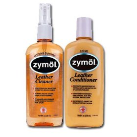Show details of Zymol Z-507 Leather Cleaner and Z-509 Leather Conditioner.