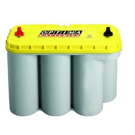 Show details of Optima Batteries 8051-160 D31A YellowTop Dual Purpose Battery.