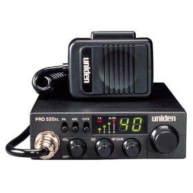 Show details of Uniden PRO520XL CB Radio.