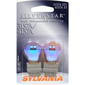 Show details of Sylvania 3157A/4157A ST SilverStar High Performance Signal Lighting.